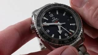 Omega Seamaster Planet Ocean GMT 232.30.44.22.01.001 Luxury Watch Review