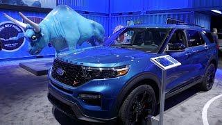 2020 Ford Explorer at the Detroit Auto Show | Stand Tour