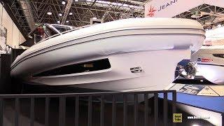 2018 Sacs Rebel 47 Luxury Inflatable Boat - Walkaround - 2018 Boot Dusseldorf Boat Show