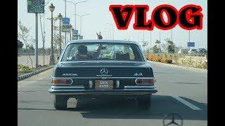 VLOG #01 **CRAZY SUNDAY** ON BLACK MERCEDES | Luxury Vintage Cars