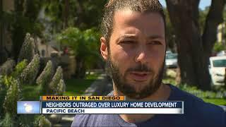 Neighbors upset over luxury home development