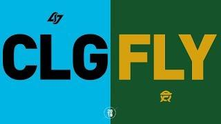 CLG vs FLY - NA LCS Week 3 Match Highlights (Summer 2018)