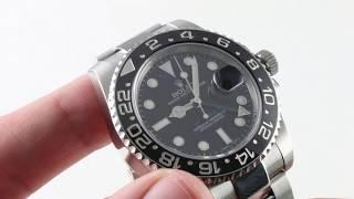 Rolex GMT-Master II 116710LN Luxury Watch Review