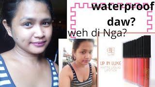 Ellana lip in Lux liquid creamy matte review (last all day ba talaga?)