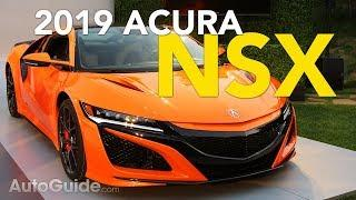 2019 Acura NSX Revealed - 2018 Monterey Car Week| Pebble Beach