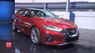 2019 Nissan Maxima Platinum - Exterior And Interior Walk-around - 2018 LA Auto Show
