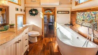 Amazing Bathroom in Luxury Hummingbird Tiny House by Tiny House Siesta