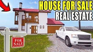FIRST HOUSE FOR SALE | REAL ESTATE SERIES | LUXURY HOUSE | FARMING SIMULATOR 2017