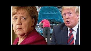 BREAKING - US TRADE: Trump ready to BAN German cars from US - bombshell report