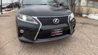 2013 Lexus RX 350 Milwaukee, WI, Kenosha, WI, Northbrook, Schaumburg, Arlington Heights, IL 5085A