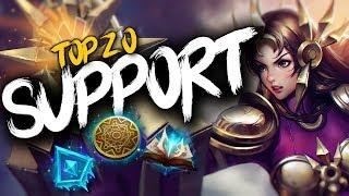 Top 20 SUPPORT Plays #15 | League of Legends