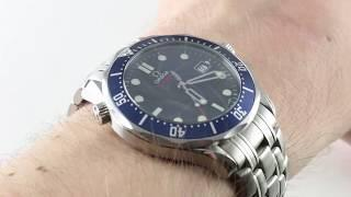Omega Seamster 300m James Bond Limited Edition 2226.80.00 Luxury Watch Review