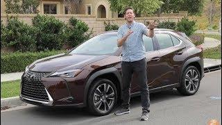 2019 Lexus UX 200 Luxury First Drive Video Review