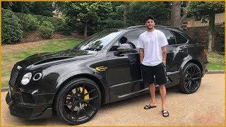 Kyle Walker's Luxury Car Collection.