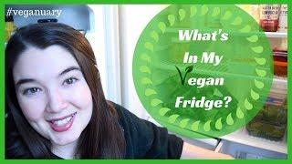 DEEP CLEAN WITH ME | WHAT'S IN MY FRIDGE | VEGANUARY