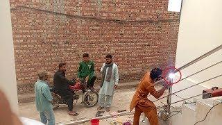 Pakistan Village Life |  Saqlain Steel worker in Village | Rural Life in Pakistan
