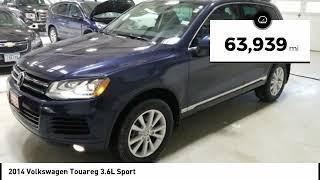 2014 Volkswagen Touareg Cedar Falls IA U13136