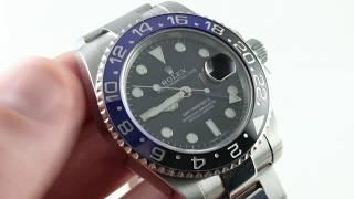 Rolex GMT-Master II 116710 BLNR Luxury Watch Review