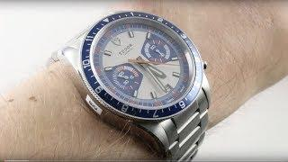 Tudor Heritage Chrono Blue Luxury Watch Review