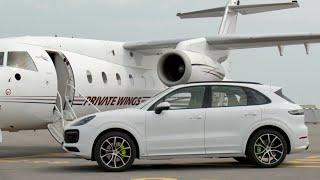 2019 Porsche Cayenne Luxury Lifestyle Trailer