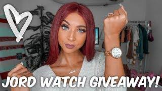 GIVEAWAY! + Jord Watch Unboxing  | Lexi Luxury
