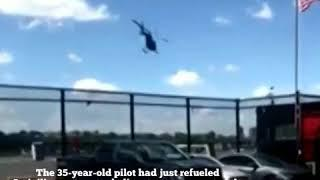 NYC Commuter Helicopter Crashes in the Hudson River West 30th Street Heliport