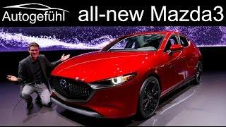 All-new Mazda3 REVIEW Exterior Interior comparison Hatch vs Sedan 2020 Mazda 3 - Autogefühl
