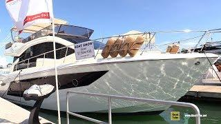 2019 Cranchi E56 F Evoluzione Luxury Motor Yacht - Walkthrough - 2019 Miami Yacht Show