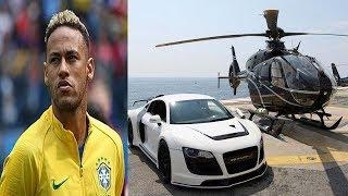 Neymar's  Most Expensive Car ,Private Jet ,Private Yacht Collection