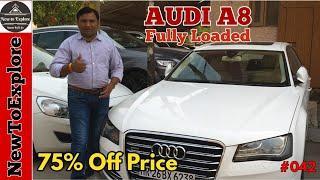 Pre Owned Audi A8 Luxury Car for Sale | Hidden Car Market Delhi | NewToExplore