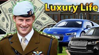 Prince Harry Luxury Lifestyle | Bio, Family, Net worth, Earning, House, Cars