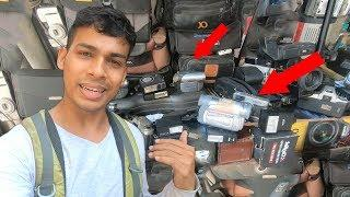 Buying Luxury and Cheap Camera at Bora Bazar Market in Mumbai | TamashaBera