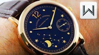 A. Lange & Sohne 1815 Moonphase Hommage a Emil Lange 231.031 Luxury Watch Review