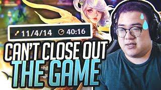 Scarra- YOU CAN'T RUN FROM MY LUX FOREVER!!! I'LL NEVER STOP UNTIL I GET THAT W!!!