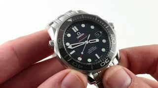 Omega Seamaster Diver 300m Co-Axial 212.30.41.20.01.003 Luxury Watch Review