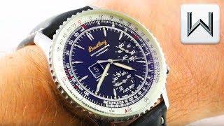 Breitling Navitimer Spatiographe A36030.1 Montbrillant Spatiographe Luxury Watch Review
