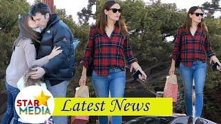"""Jennifer Garner luxury in shopping with daughter Seraphina ... after agreeing to """"reunite"""" with Ben"""