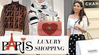Birthday Luxury Shopping In PARIS- Chanel, Louis Vuiton, Dior, Fendi & More