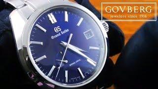 Grand Seiko SBGA375 Spring Drive Automatic Luxury Watch Review