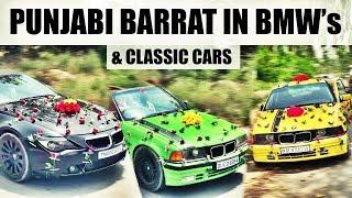 Punjabi Barrat In Classic & Luxury Cars for Punjabi song Video Shoot  | Bhele Cars | LIVE RECORDS
