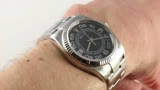 Rolex Oyster Perpetual 116034 Luxury Watch Review