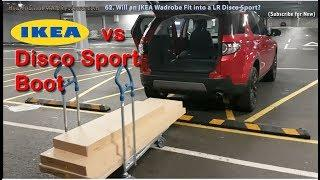 IKEA Flat Pack Wardrobe vs Land Rover Discovery Sport Boot Space