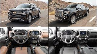 Car New | 2019 Chevrolet Silverado High Country vs. 2019 GMC Sierra Denali: Interior Comparison