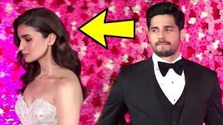 Alia Bhatt AVOIDS EX BF Sidharth Malhotra At Lux Golden Rose Awards 2018