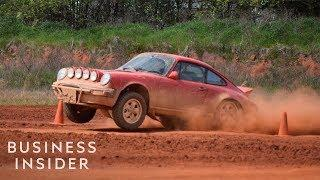 Company Turns Luxury Porsches Into Off-Road Beasts