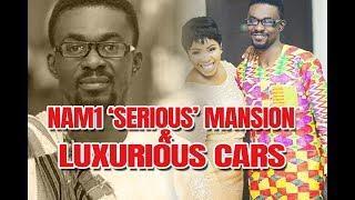 "EEE!!! MENZGOLD  NAM1 ""SERIOUS"" MANSION & LUXURIOUS CARS IN TRASACO - Nana Appiah Mensah"