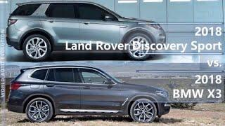 2018 Land Rover Discovery Sport vs 2018 BMW X3 (technical comparison)