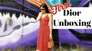 NEW LADY DIOR BAG ????  UNBOXING 2018 | Luxury Duty-Free