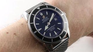 Breitling Superocean Heritage 42mm A1732124/BA61 Luxury Watch Review