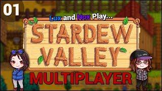 Lux and Nox Play... Stardew Valley 1.3 (Multiplayer/Co-Op) | LP/Gameplay | Ep. 1: Take My Wood